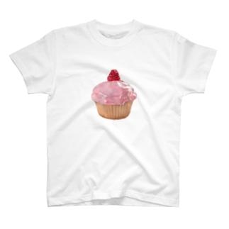 ラズベリーカップケーキ T-shirts