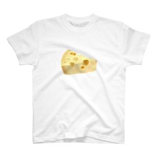 ただのチーズ T-shirts