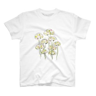 お旅立ちきのこ② T-shirts