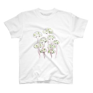 お旅立ちきのこ③ T-shirts
