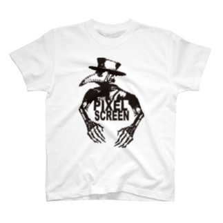 steampunk CROW pixel T-shirts