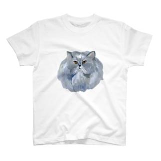 kingにゃんこ T-shirts