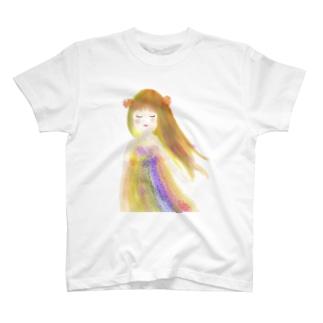微風に吹かれて T-Shirt