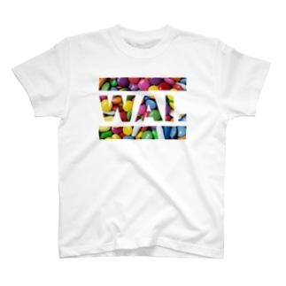 WAIT(マーブルチ◯コ) T-shirts