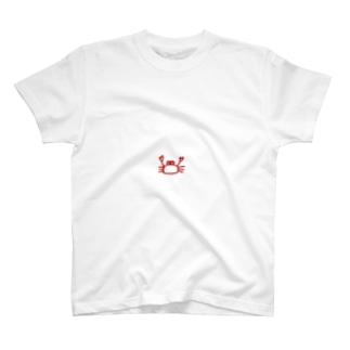 かわいいカニ T-shirts