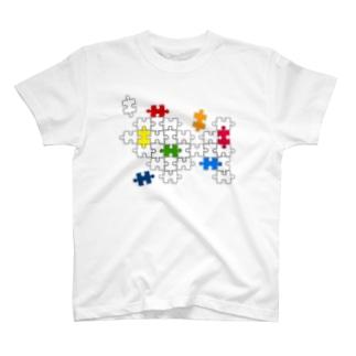 Jigsaw_Puzzle T-shirts