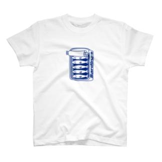 オイルサーディン T-shirts