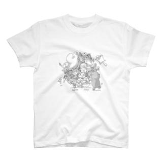 塊いんぐれす T-shirts