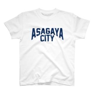 アサガヤシティTシャツ ネイビー T-shirts