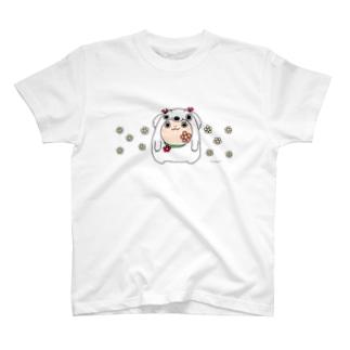 まるコロ(おはな 片面) T-shirts
