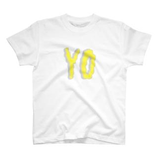 YO(グニャ) T-shirts