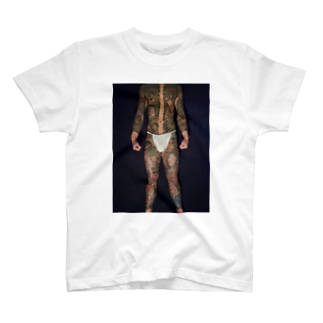 WarN會 会長総身彫Tシャツ T-shirts