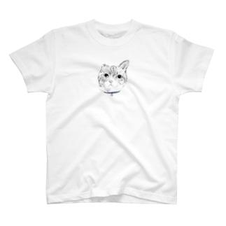 やぎのつのの実家の猫 -しゅん- T-shirts