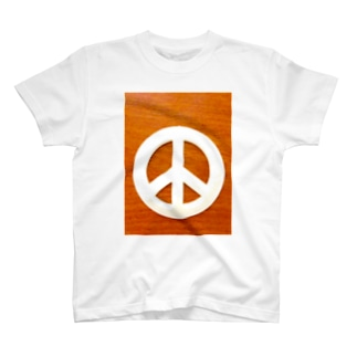 peace mark T-shirts