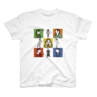 注目のまと T-shirts