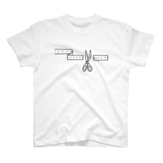 記録テープ T-shirts