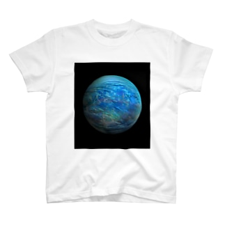 Globe17/For a round heart  T-shirts