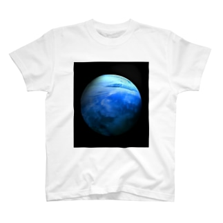 Globe15/For a round heart T-shirts