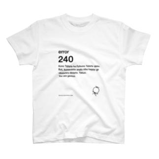 西尾夕香デザイン Tシャツ T-shirts