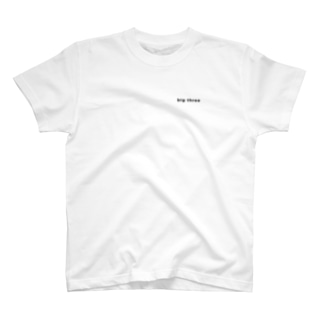 big three T-shirts