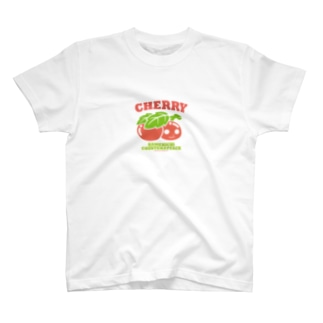 KAME-T04~チェリーカメ吉 Tシャツ T-shirts