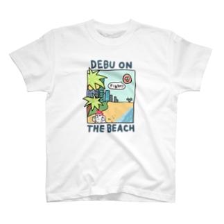 DEBU ON THE BEACH T-shirts