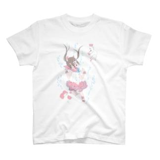 魔法少女と湖の天使 T-shirts