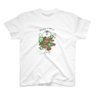 オクラ納豆あざらし T-shirts