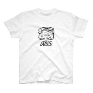 FUGO(黒線) T-shirts