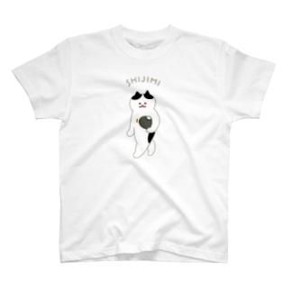 SUIMINグッズのお店の【中・フチあり】SHIJIMI T-shirts