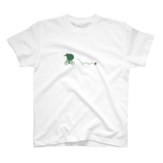 キウイ落ちましたよ。 T-shirts
