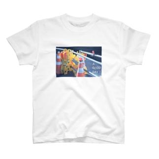 街角のキリン T-shirts
