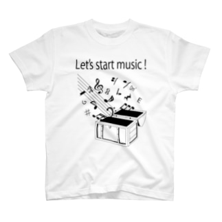 Lets start music T-shirts