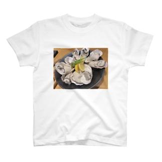 牡蠣 T-shirts