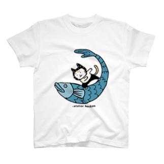 なみのりねこ T-shirts