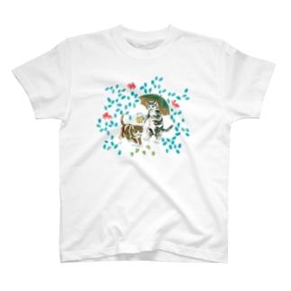 SAKURAYAMA HOP CAT T-shirts