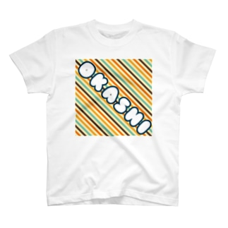 お菓子屋さんぽい配色背景 T-shirts