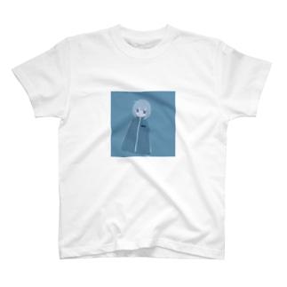 紺碧の女の子 T-shirts