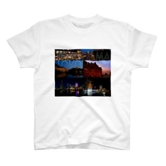 横浜夜景No.01 T-shirts