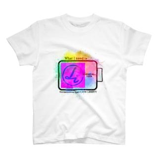 リバティー+バッテリー T-Shirt