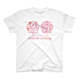 桃花ちゃん_ナゴコロゴ T-shirts
