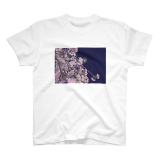 夜桜 T-shirts