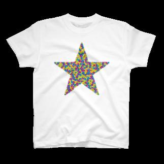 モンキーレンチのMimizuku スター T-shirts