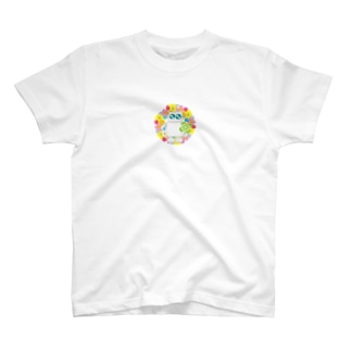 花輪ロボット T-shirts