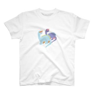ファンシーきょうりゅうちゃん T-shirts