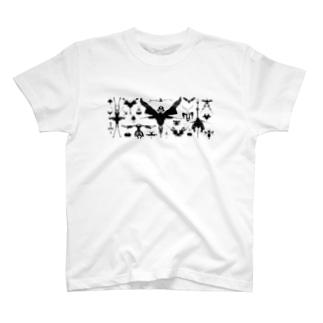 霧蛾夢虫02 T-shirts