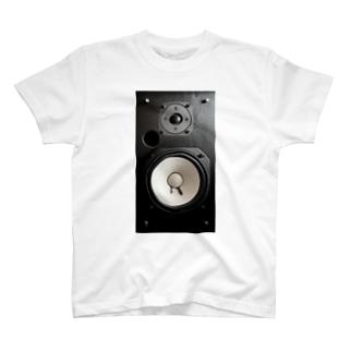 スピーカー T-shirts