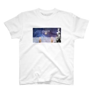 💗🇲🇴🇲🇴🇰🇴💗のELOHIM T-shirts
