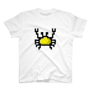 黄色カニアイコン T-shirts