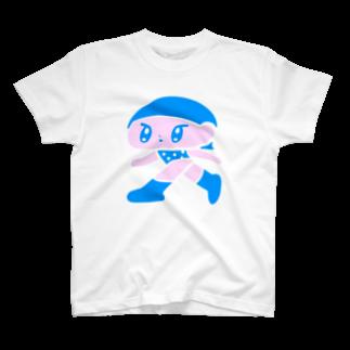 モニョチタポミチのはしってる T-shirts